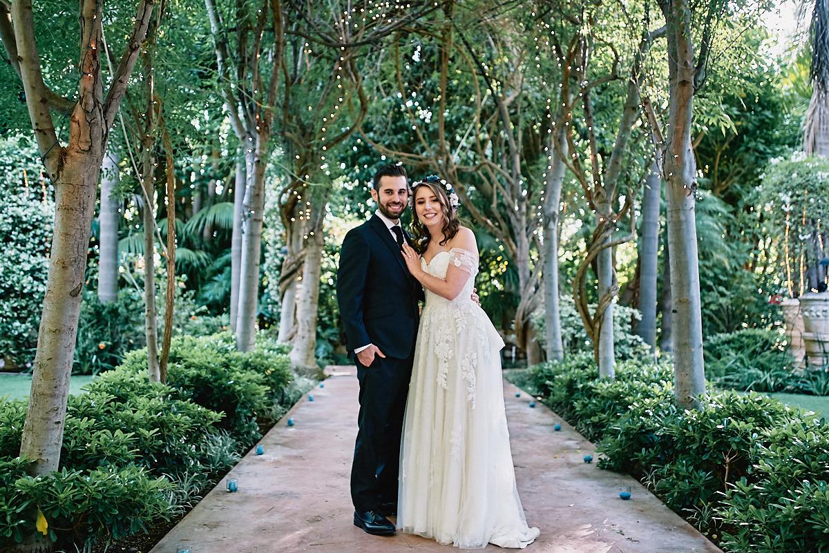 Hartley Botanica wedding portrait