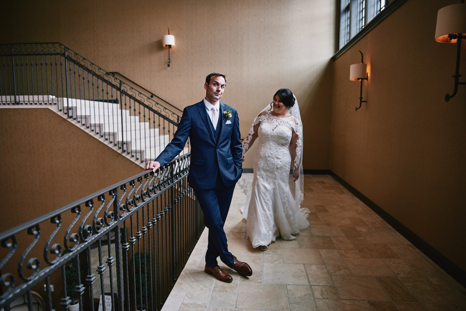 Diamond Mills Hotel wedding first look