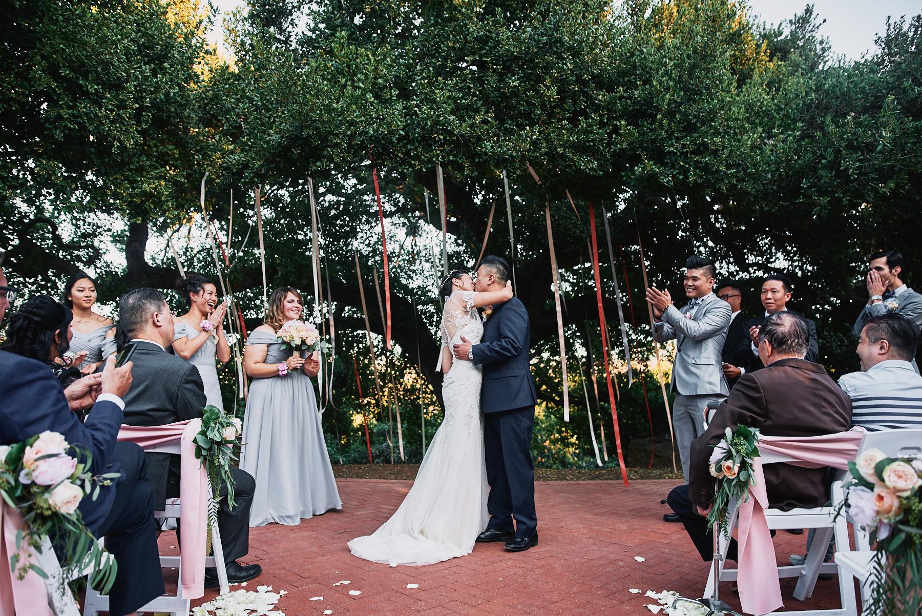 Quail Ranch wedding ceremony
