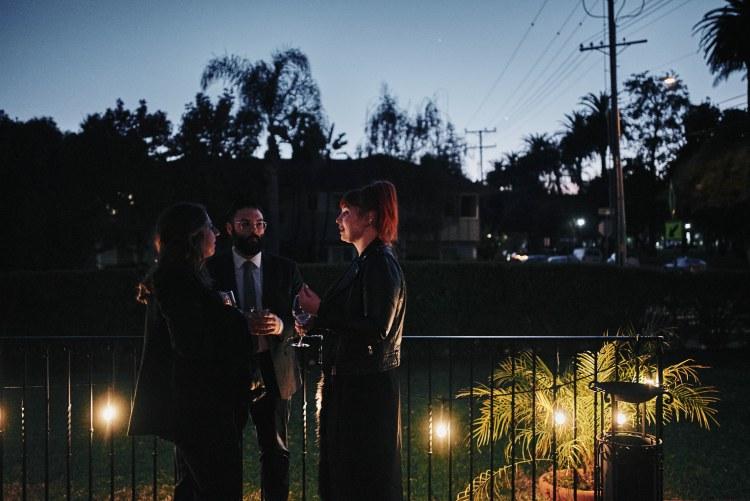 Riviera Mansion wedding reception night
