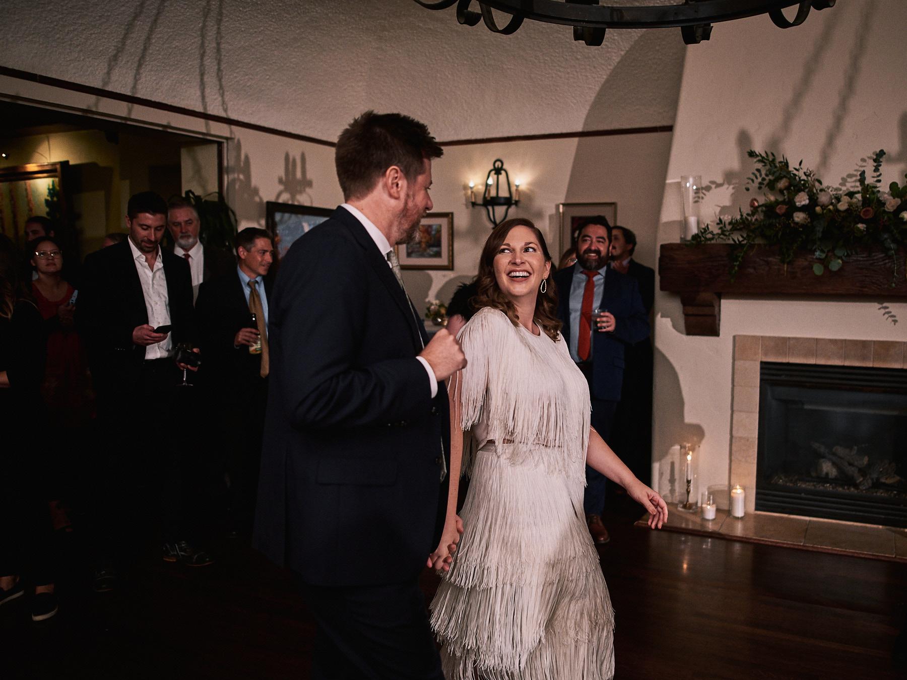 Riviera Mansion wedding first dance