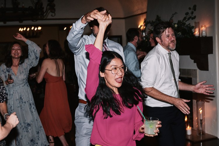 Riviera Mansion wedding reception dance floor