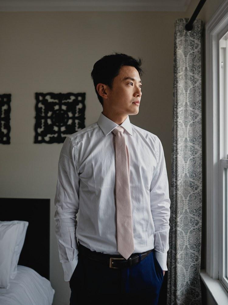 wedding groom tie