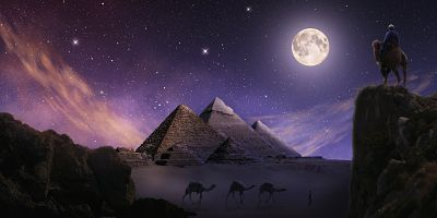 Pyramid, Past Life Regression & Atlantis