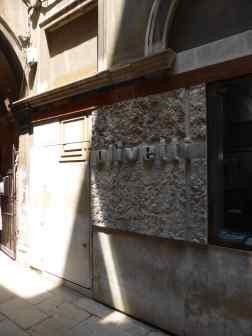 Olivetti Showroom, Venice - Carlo Scarpa 02_Stephen Varady photo ©