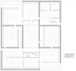 Clyfford Still Museum by Allied Works Architecture - first floor plan