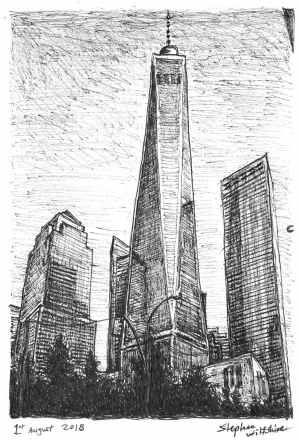 york freedom tower drawings stephen wiltshire