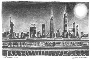 wiltshire stephen york silhouette drawings drawing prints stephenwiltshire artist fine draws