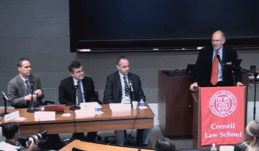 Cornell Law School: Immigration and Executive Power Panel