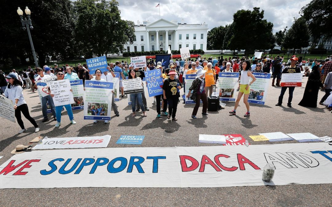 Trump Administration Officially Moves to Rescind DACA; U.S. States and Immigration Groups Fight Back