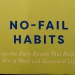 January Giveaway: No-Fail Habits Book