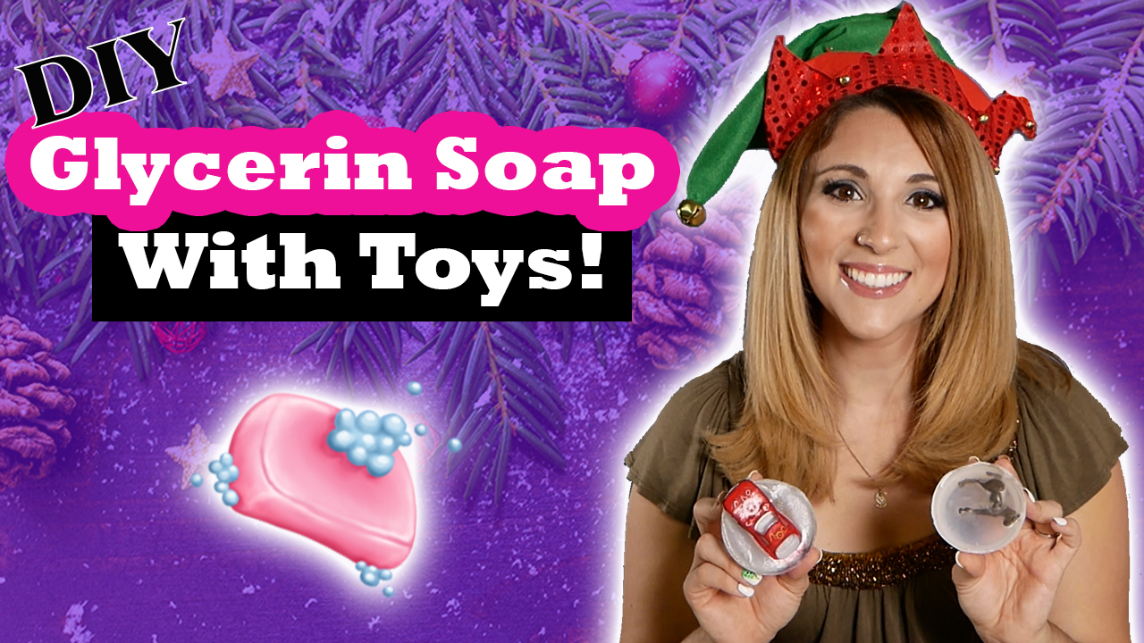 Glycerin Soap with Toys