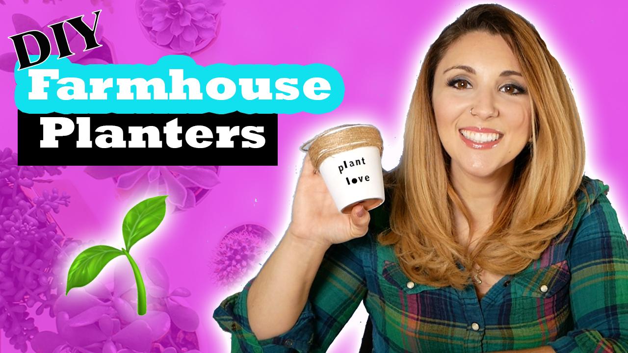 Farmhouse Style Planter