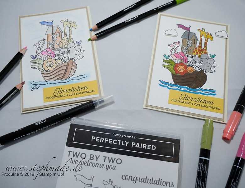 Oldies but Goldies: Aquarellieren mit Perfectly Paired