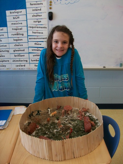 small resolution of 4th Grade Native American Projects:   Tiger Tales- Amelia Elementary...