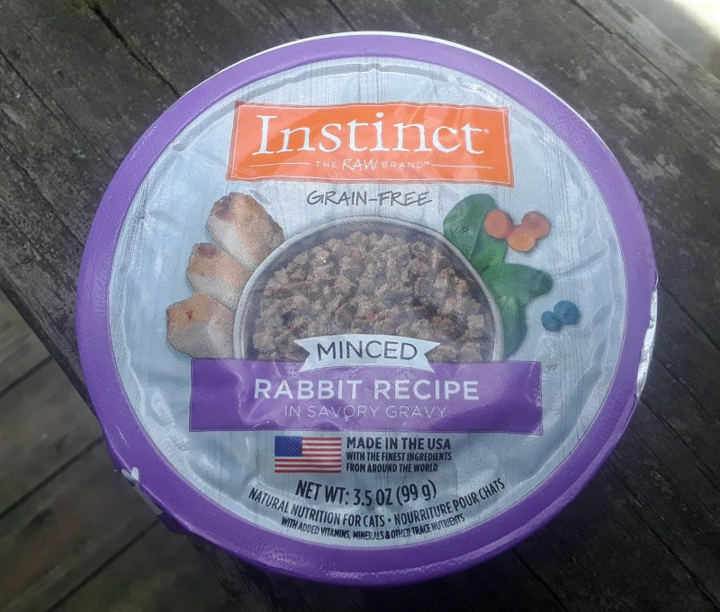 Chewy Influencer: Instinct by Nature's Variety Real Rabbit Wet Food