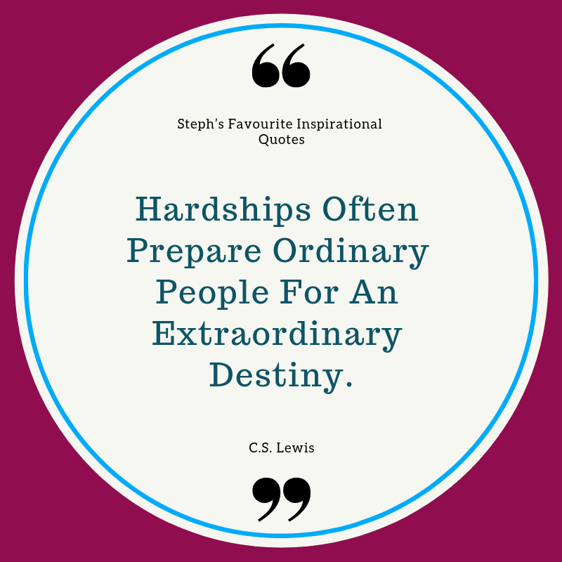 Quote about overcoming hardships