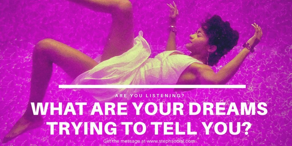 What Are Your Dreams Telling You