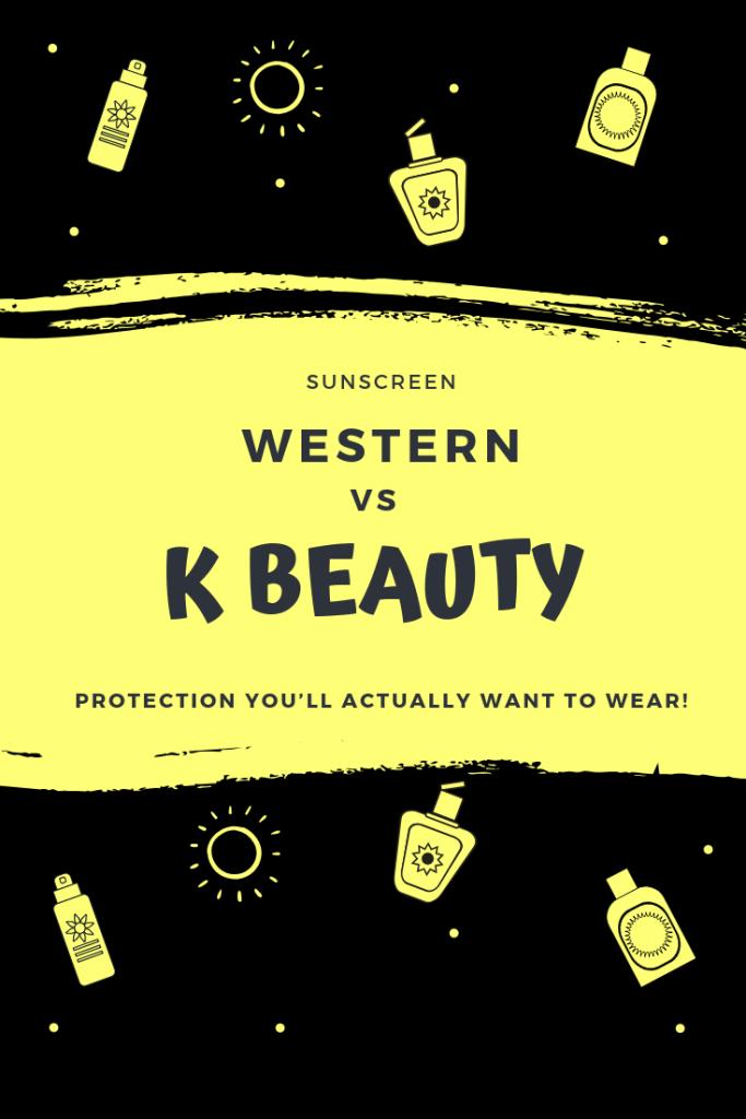 Korean Sunscreen Vs Western Sunscreen