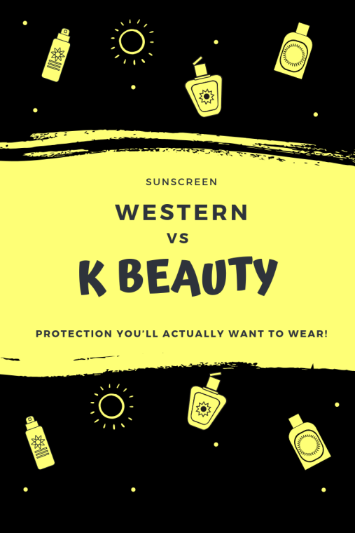 Korean Sunscreen Vs Western Sunscreen