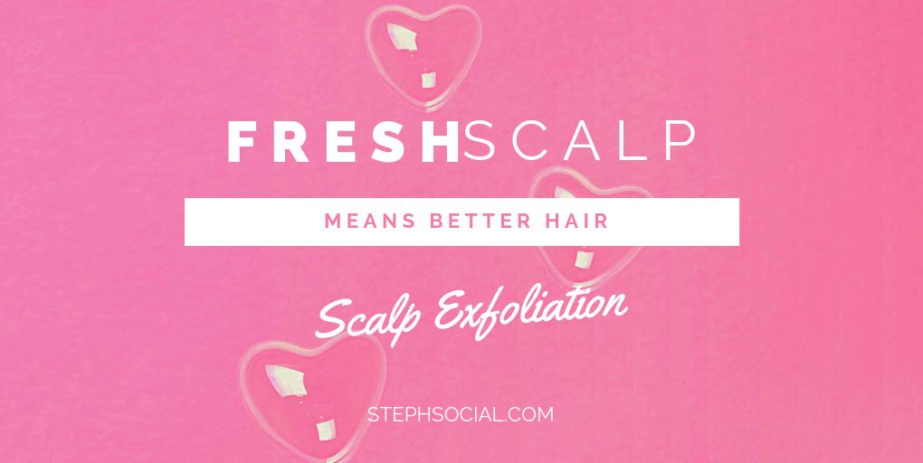 scalp exfoliating