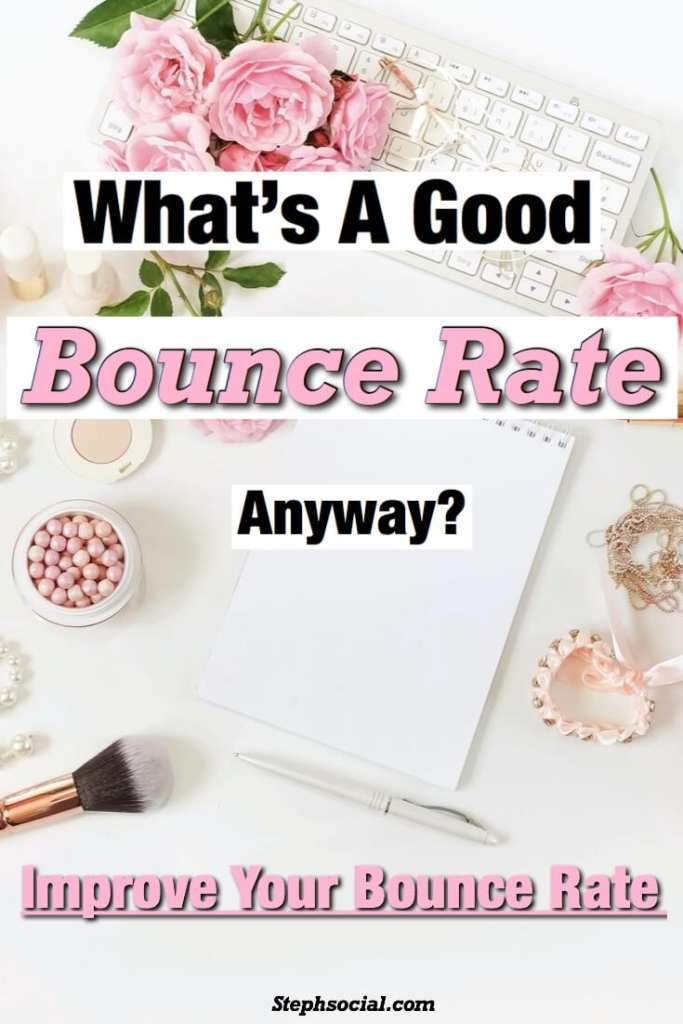 what's a good bounce rate?