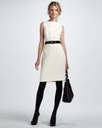 Winter White Dress  Steph's Scribe