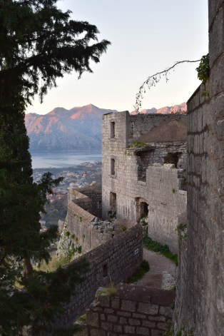 """The higher we climbed, the more structures we started to see. This was the beginning of the """"High Risk"""" zone. I'm assuming it was because of crumbling walls and steps."""