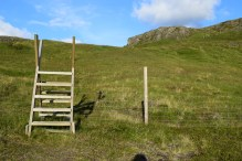I love these hiking steps. They remind me of England.