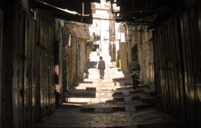 Streets of the Old City in the early morning.