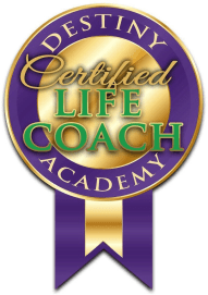Destiny Coaches & Mentors Life Coach Stamp