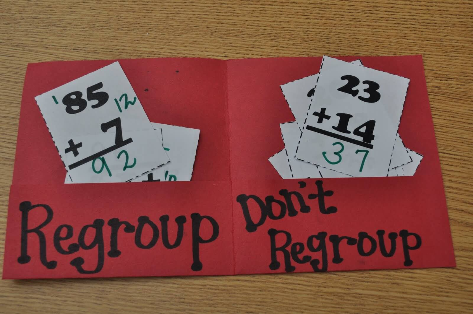 Addition And Subtraction With Without Regrouping