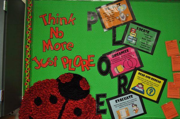Literacy Bulletin Boards - Step 2nd Grade