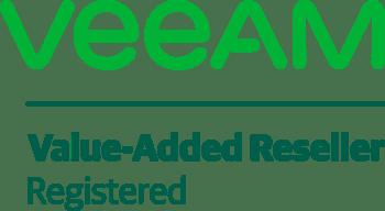 Veeam Value Added Reseller Logo stepIT.net