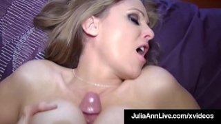 Magnificent Milf stuffs her spit filled mouth, with your pulsating penis, giving you a superb, professional & outstanding blowjob to bust your nut!
