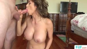 Stepmom Alexis Fawx Uses Stepson For Sex
