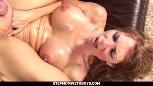 stepmom with boys sexy hot stepmom gives son a