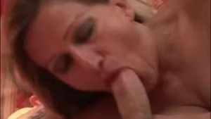 Stepmom woke me up with a nice blowjob Rest is