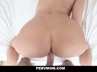 PervMom Busty Milf Plowed in New Lingerie