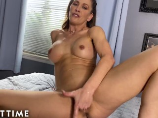 JOI Mom Cant Stop Watching Hot Stepmom Cherie