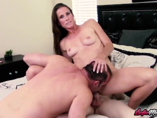 MILF Sofie Marie Caught Fucking Her Hung Young