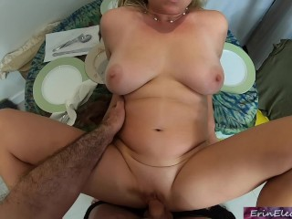 Busy stepmom helps horny stepson Erin Electra