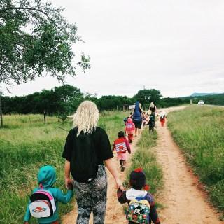 Följer barnen hem från förskolan
