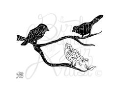 print bird