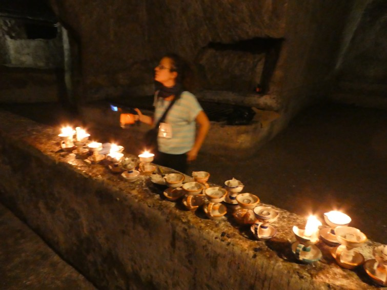 Im Kerzenlich durch Neapel