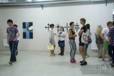 Rebranding / Cupola Crosses exhibition at UCU in Lviv was curated by Pavlo Hudimov, Ukraine's art buff