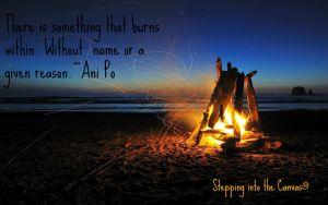 Something that burns within
