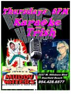 Muddy Waters-thursdays-Karaoke with Trish-12376336_1260342347315899_1169299709694471_n