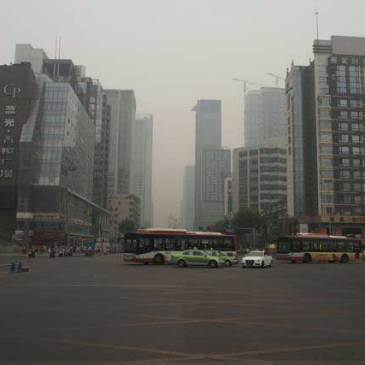Chengdu… without the pandas!