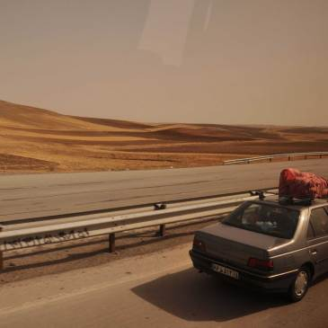 Entre Tabriz e Teerão… on the road again!
